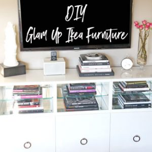 How To: Glam Up IKEA Furniture