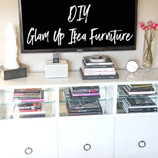 How To Glam Up Ikea Furniture