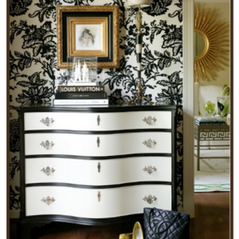 Thirstday Pinspiration: Hollywood Regency Dresser