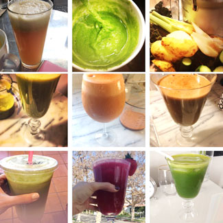 10-day juice cleanse